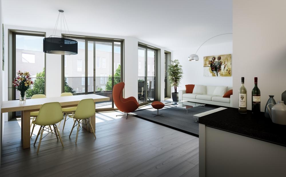 Te huur appartement in Amsterdam Oost
